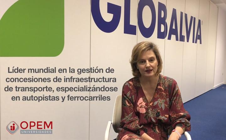 OPEM Universidades entrevista a Belén Castro, Directora de RRHH, Comunicación y RSC de Globalvia