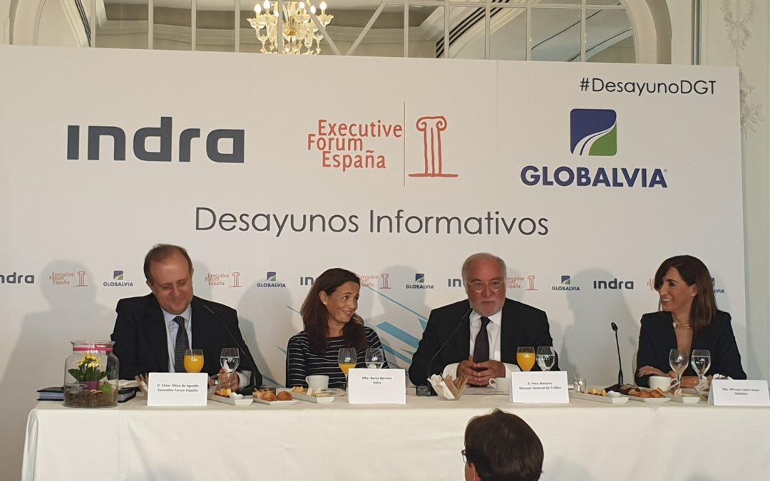 Globalvia patrocina el Desayuno Informativo con el Director General de Tráfico