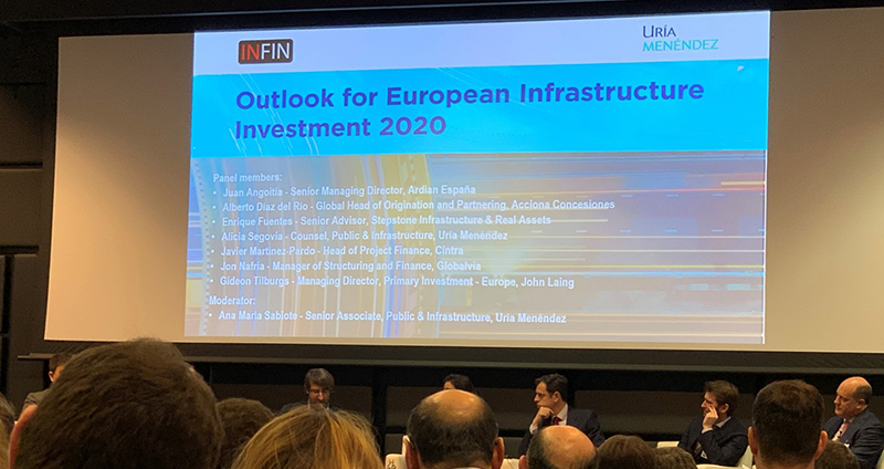 Globalvia participates in the event INFIN Spain: Outlook for European Infrastructure Investment 2020