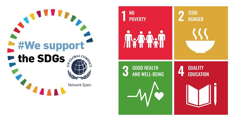 At Globalvia #wesupportSDGs! Discover our contribution to the first four Goals