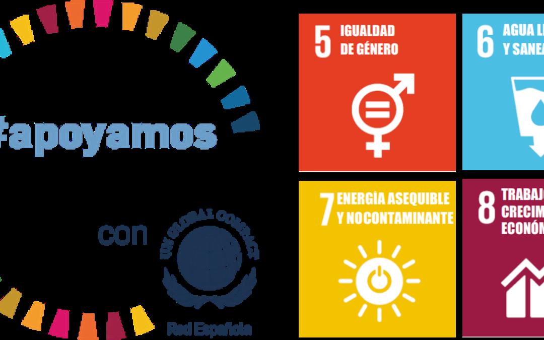 ¡En Globalvia #apoyamoslosODS!   ¡Te contamos nuestras acciones en los ODS 5,6,7 y 8!